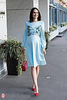 Сукня для вагітних і годування MAGNOLIA DR-30.092 блакитна, Юла мама