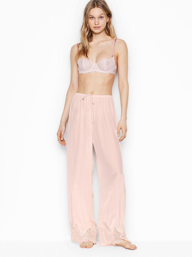 Женские домашние штаны Victoria's Secret art159408 (Розовый, размер M)