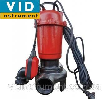 Фекально-дренажный насос Могилев ДН-2750 (с ножами, с поплавковым выключателем для грязной воды), фото 2