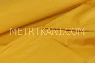 Однотонная польская бязь горчичного цвета  125 г/м2  №1621