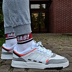 Мужские кроссовки Adidas Drop Step low демисезонные осень весна белые 40-44р. Фото в живую (Реплика ААА+)