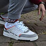 Мужские кроссовки Adidas Drop Step low демисезонные осень весна белые 40-44р. Фото в живую (Реплика ААА+), фото 4