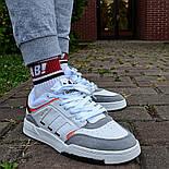 Мужские кроссовки Adidas Drop Step low демисезонные осень весна белые 40-44р. Фото в живую (Реплика ААА+), фото 3