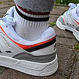 Мужские кроссовки Adidas Drop Step low демисезонные осень весна белые 40-44р. Фото в живую (Реплика ААА+), фото 8
