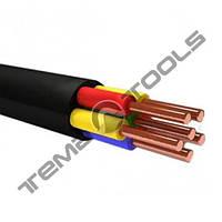 Силовий мідний кабель ВВГ нг 5x6,0 мм2