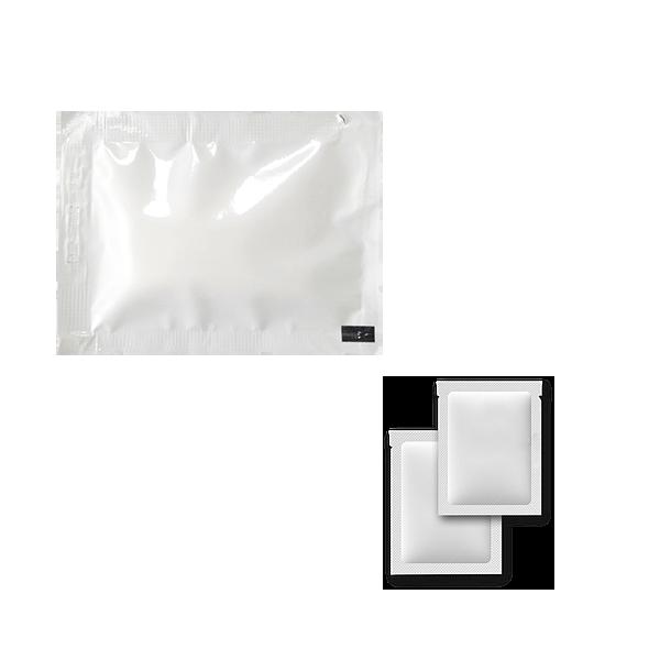 Салфетка влажная одноразовая в индивидуальной упаковке 15х15 см., 500 шт/уп белая упаковка