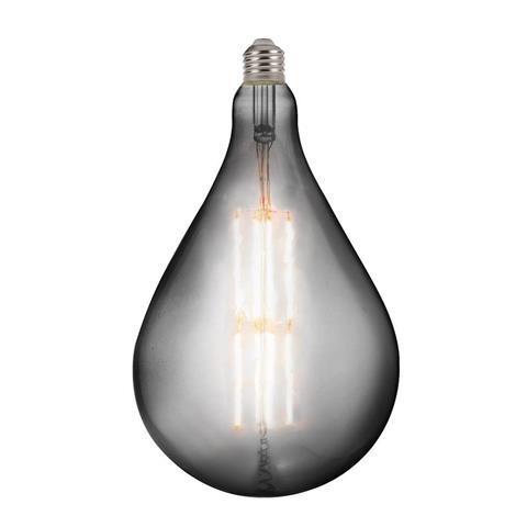 Лампа винтажная светодиодная (ретро) Horoz Electric Filament led TOLEDO  8W 2400К титан E27