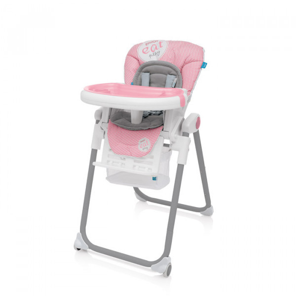 Стульчик Baby Design Lolly-08 розовый