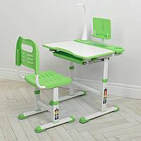 Парта со стулом «Bambi» M 4428-5 Зеленый