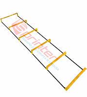 Координационная лестница с барьром