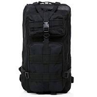 Рюкзак тактический Molle System 45 L. Black, фото 1