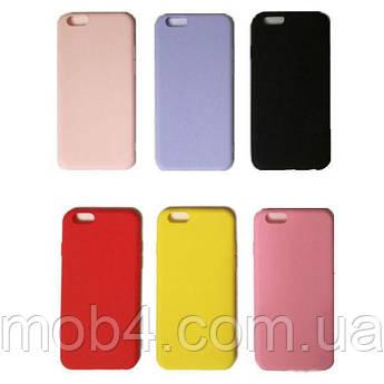 Силиконовый Soft Touch чехол накладка Candy для Apple iPhone 6 Plus / 6s Plus (6 цветов)