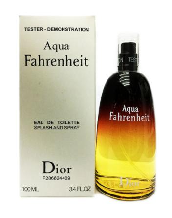 Тестер мужской Christian Dior Fahrenheit Aqua, 100 мл