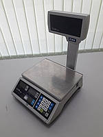 Торговые весы CAS ER JR-15CBU бу, фото 1