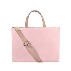 Женская сумка портфель для документов - розовый