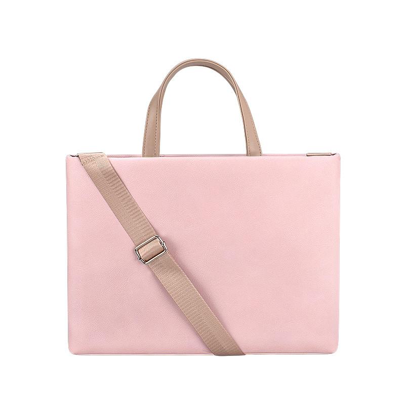 Жіноча сумка портфель для документів - рожевий
