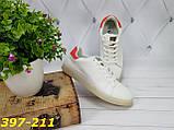 Белые кеды с красной пяткой, фото 4