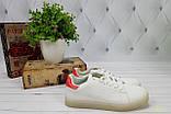 Белые кеды с красной пяткой, фото 5