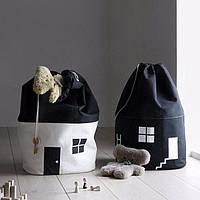 Корзины для игрушек (белья) домик