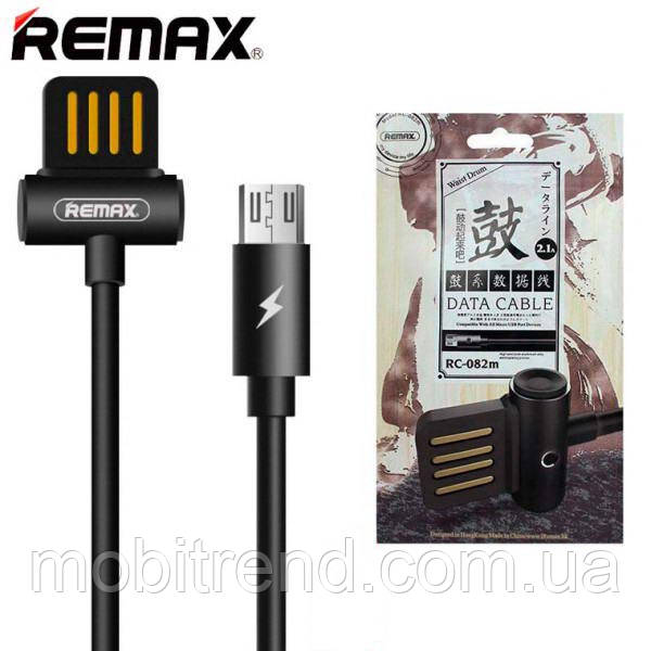 Кабель micro-USB Remax Waist Drum RC-082m micro-USB Черный