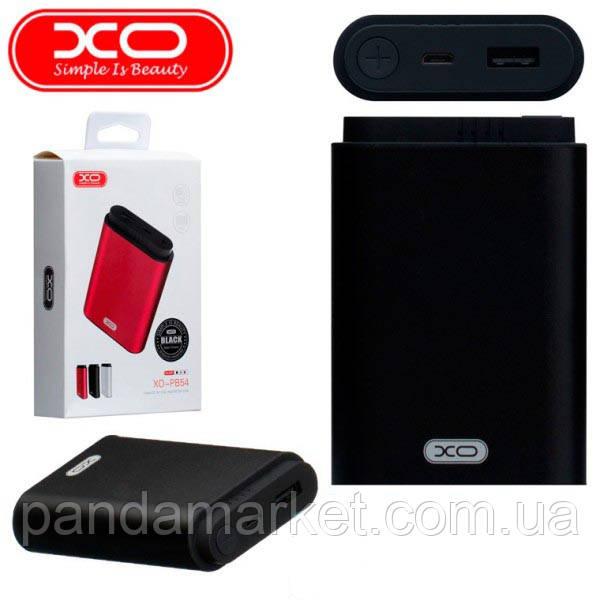 Внешние аккумуляторы (Power Bank) XO PB54 8000mAh Черный
