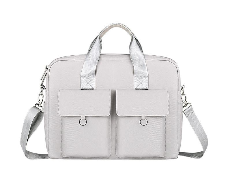Женская сумка портфель для документов - Серый