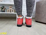 Ботинки зимние очень теплые коралловые, фото 3
