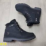 Ботинки зимние черные, фото 4