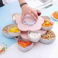 Вращающаяся тарелка-органайзер для сладостей, фруктов