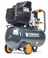 Компрессор воздушный POWERMAT 24 литров гарантия 12 месяцев