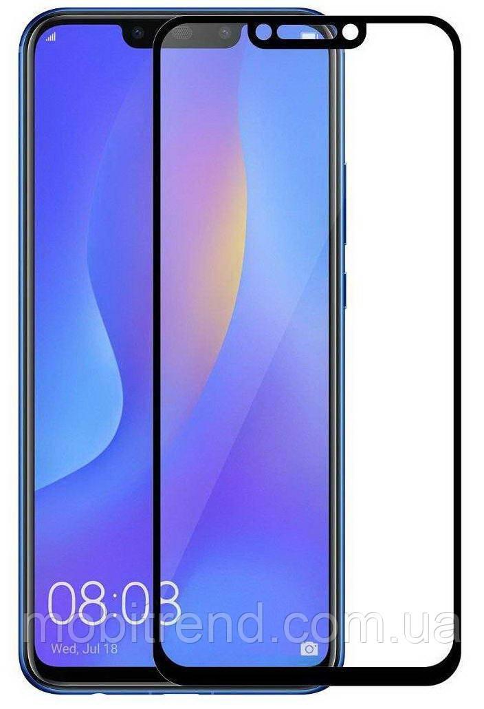Защитное стекло 3D для Huawei P Smart Plus 3D Черный