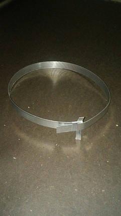 Хомут для крепления теплоизоляционной скорлупы ППУ (89 диаметр), фото 2