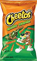 Чипсы Cheetos Crunchy Cheddar Jalapeño Cheese 219g