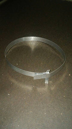 Хомут для кріплення теплоізоляційної шкаралупи ППУ Ø133, фото 2
