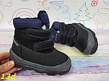 Детские зимние термо сноубутсы ботинки на нескользящей подошве, фото 3