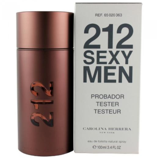 Тестер мужской Carolina Herrera 212 Sexy Men,100 мл