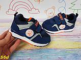Детские кроссовки унисекс синие, фото 2