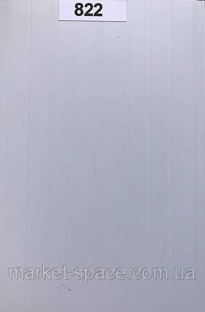 Дверь гармошкой глухая. №822. Цвет: белый 2030мм/810мм/6мм, фото 2