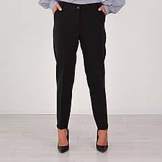 """Штани жіночі повномірні """"Альміра"""" в кольорі чорного"""