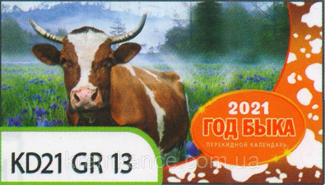 Календар формату на пружині «гірка» Kd21-Gr 13