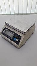 Весы простого взвешивания CAS SW-W (CAS SW-5W) пыле-влагозащита IP66 бу