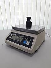 Весы простого взвешивания CAS SW-W (CAS SW-10W) пыле-влагозащита IP66 бу