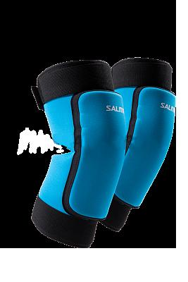 Захисні наколінникі для воротарів Salming Core Goalie флорбольні сині