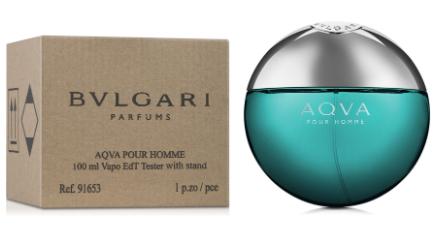 Тестер мужской  Bvlgari Aqua Pour Homme,100 мл