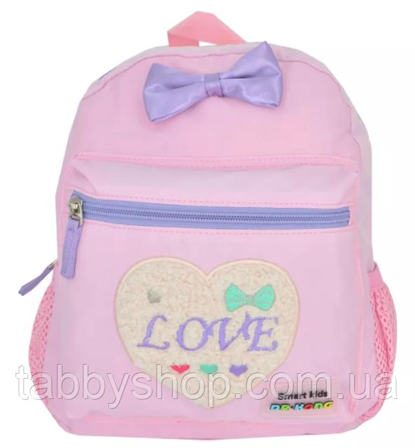 Рюкзак дошкольный Dr. Kong Z1500024 розовый с бантиком