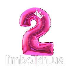 Цифры шарики на день рождения  с дополнительным декором