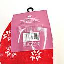 Вовняні шкарпетки жіночі зимові з хутром всередині Термо, фото 3