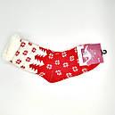 Вовняні шкарпетки жіночі зимові з хутром всередині Термо, фото 2