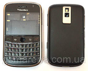 Задняя часть корпуса для BlackBerry 9000 Черный Оригинал