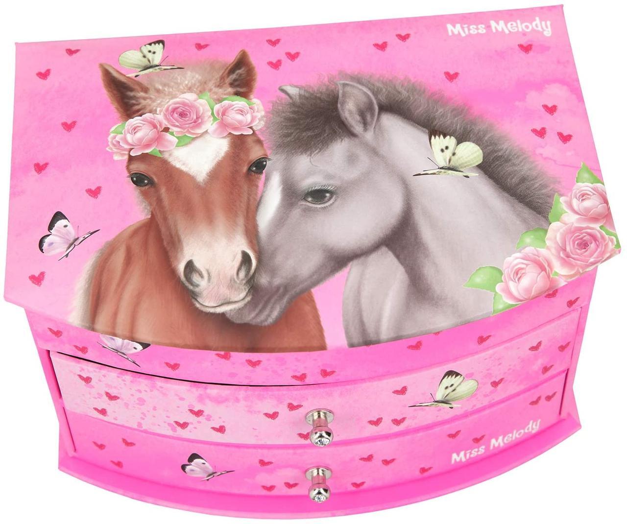 Top Model шкатулка для прикрас рожева Miss Melody Depesche ( Шкатулка с зеркалом Топ Модел Мисс Мелоди )